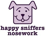 Happy Sniffers Nosework logo